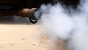 Alarm as air pollution levels exceed the WHO limit