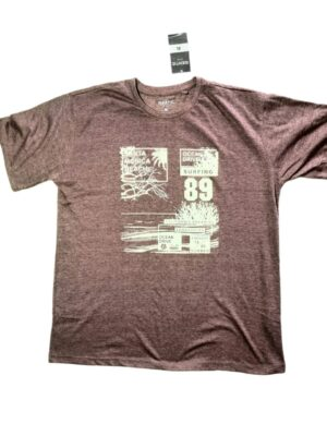 Brown Men's Tshirt with Cool Design